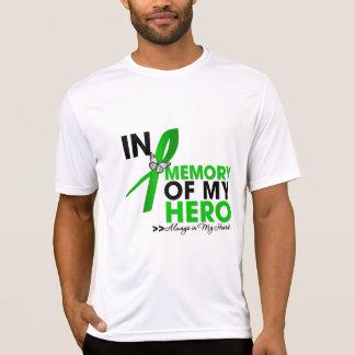 Tributo de la enfermedad de riñón en memoria de mi camisetas