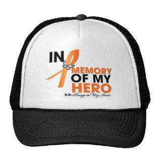Tributo de la esclerosis múltiple en memoria de mi gorros