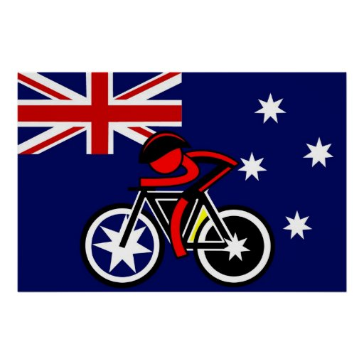 Tributo de la etapa 20 al australiano póster