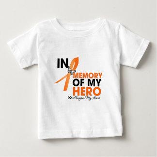 Tributo de la leucemia en memoria de mi Hero.png T-shirt