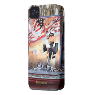 Tributo de USS Arizona Case-Mate iPhone 4 Carcasa