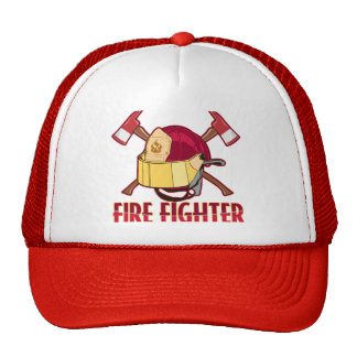 Tributo del bombero gorra