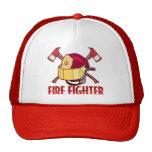 Tributo del bombero gorras