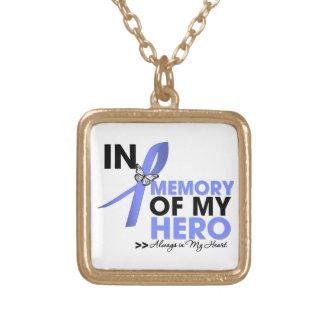 Tributo del cáncer de estómago en memoria de mi hé collar