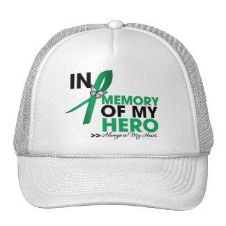 Tributo del cáncer de hígado en memoria de mi héro gorra
