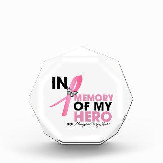 Tributo del cáncer de pecho en memoria de mi héroe