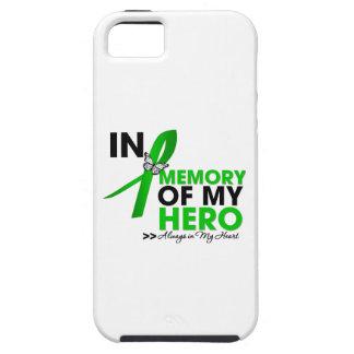 Tributo del cáncer del riñón en memoria de mi funda para iPhone SE/5/5s