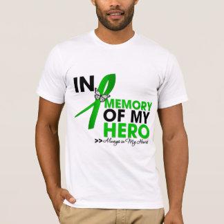 Tributo del cáncer del riñón en memoria de mi playera