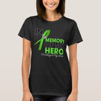 Tributo del linfoma no-Hodgkin en memoria de mi Playera