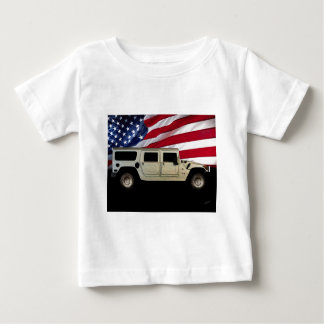 Tributo del patriota de Hummer Remeras
