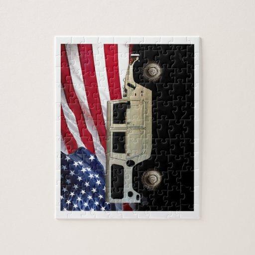 Tributo del patriota de Hummer Rompecabezas