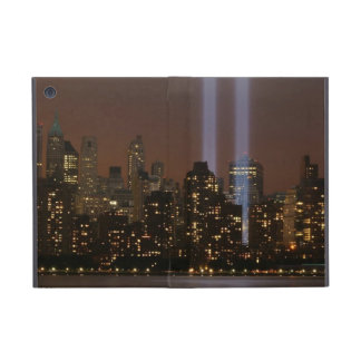 Tributo del World Trade Center en luz en Nueva Yor iPad Mini Funda