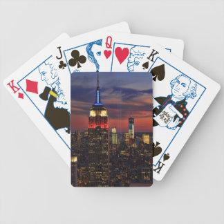 Tributo en de sept. el 11, ESB #1 de la luz de Baraja Cartas De Poker