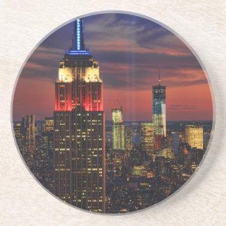 Tributo en de sept. el 11, ESB #1 de la luz de Posavasos Personalizados
