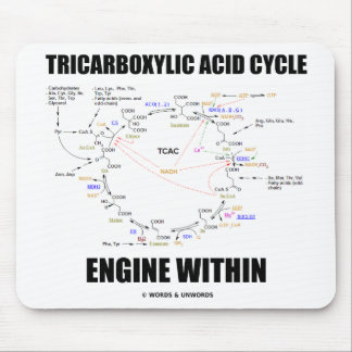 Tricarboxylic Acid Cycle Engine Within Krebs Cycle Mousepad