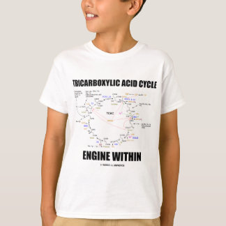Tricarboxylic Acid Cycle Engine Within Krebs Cycle T-Shirt