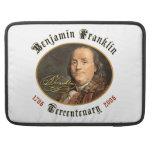 Tricentenario de Ben Franklin Funda Macbook Pro