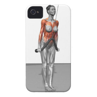 Triceps Push Downs Case-Mate iPhone 4 Cases