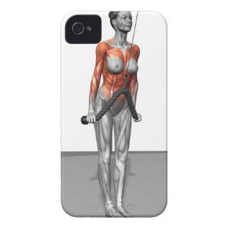 Triceps Push Downs Case-Mate iPhone 4 Case