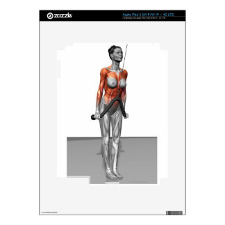 Triceps Push Downs Skins For iPad 3