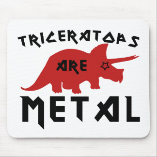 Triceratops are Metal Mousepad
