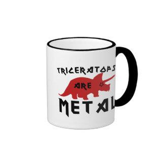 Triceratops are Metal Ringer Mug