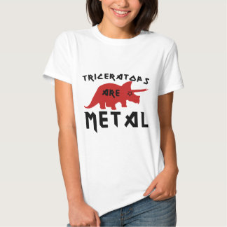 Triceratops are Metal T-Shirt