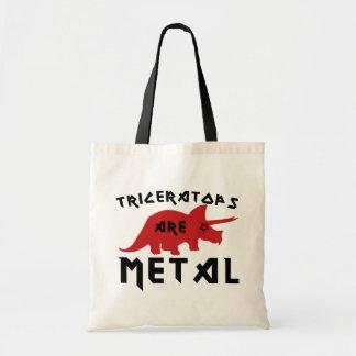 Triceratops are Metal Tote Bag