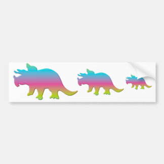 Triceratops Bumper Stickers