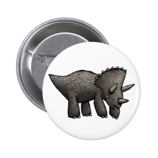 Triceratops! Button