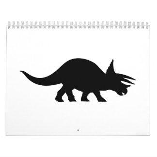 Triceratops Calendar