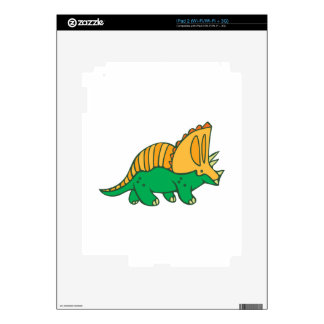 Triceratops Decals For iPad 2