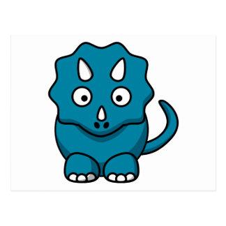 Triceratops del bebé postales