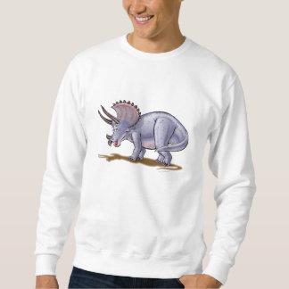 Triceratops del dibujo animado de la camiseta suéter
