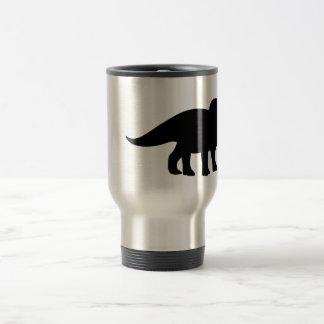 Triceratops Dinosaur. Stainless Steel Travel Mug