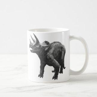 triceratops dinosaur classic white coffee mug