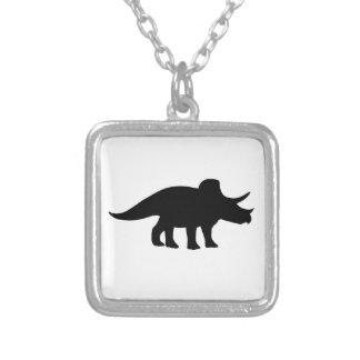 Triceratops Dinosaur. Necklace