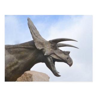 Triceratops Dinosaur Postcard