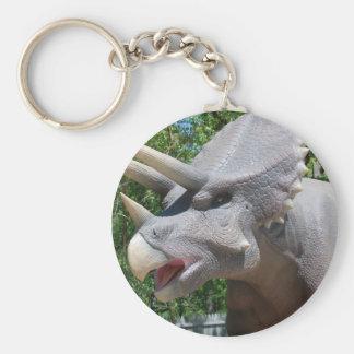Triceratops Dinosaurs Keychain
