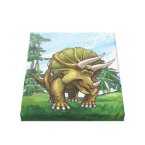 Triceratops Gifts & Accessories Canvas Print