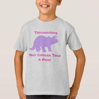 Triceratops  Girls Shirt