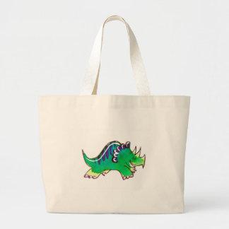 Triceratops Large Tote Bag