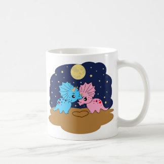 Triceratops love - Mug1 Classic White Coffee Mug