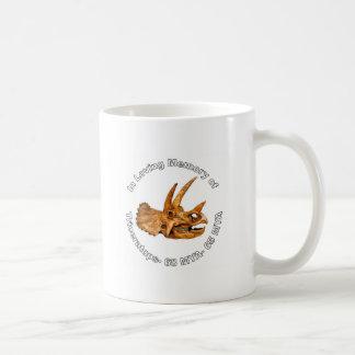 Triceratops' Memory Classic White Coffee Mug