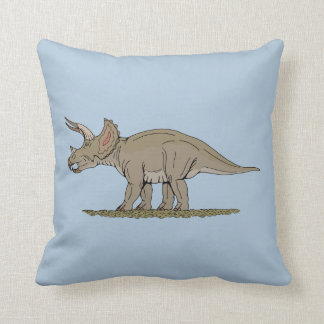 Triceratops Pillow