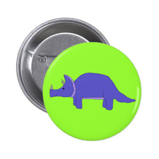 Triceratops pin
