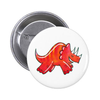 Triceratops Pins