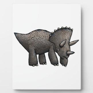 Triceratops! Plaque