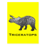 Triceratops Post Cards
