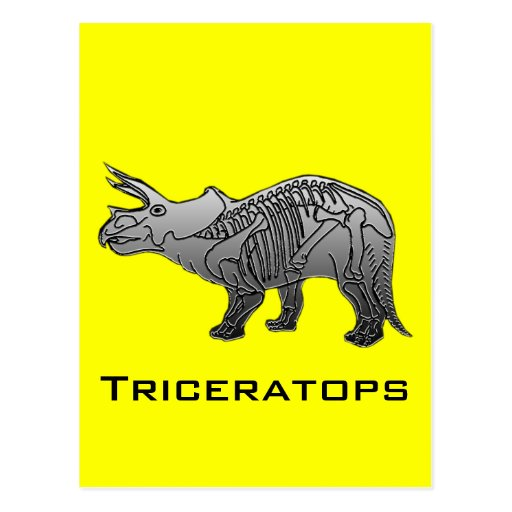 Triceratops Postales